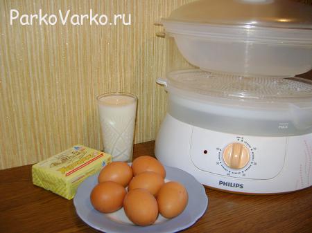 omlet-v-parovarke