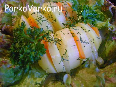 картошка в пароварке